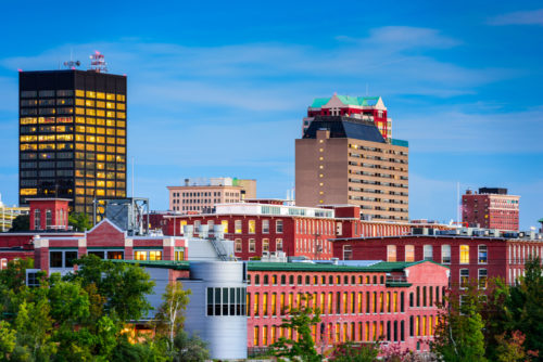 A city skyline of New Hampshire.